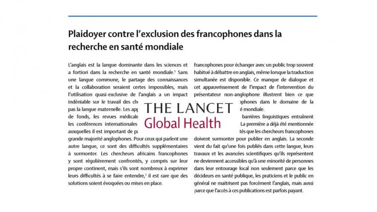 Lancet-global-health-15avril2019