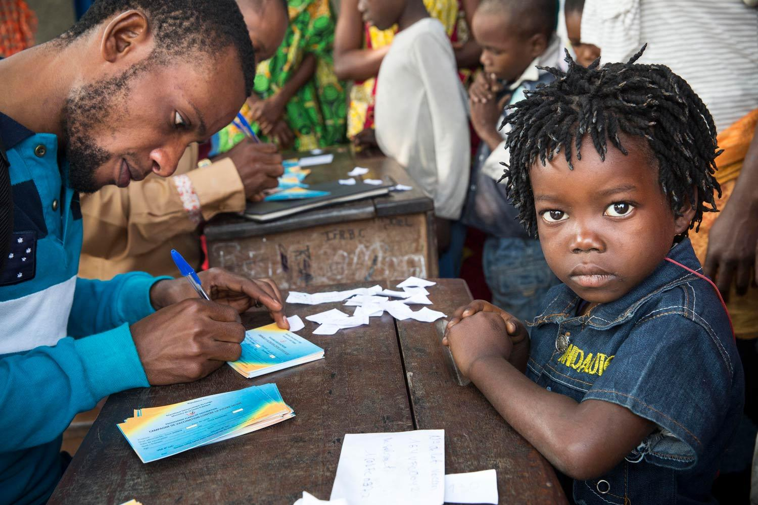Yellow fever vaccination campaign, DRC