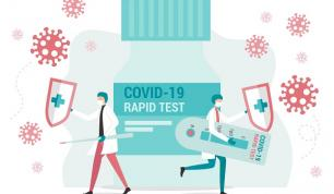 Test diagnostique rapide COVID